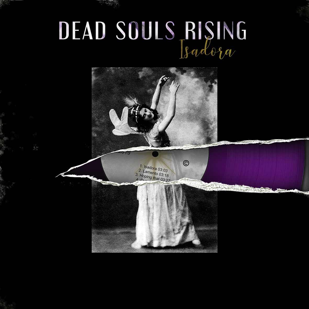 """pochette disque Dead Souls Rising """"isadora"""""""