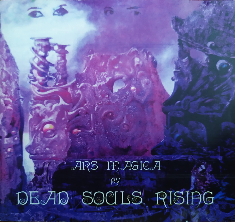 """pochette Dead souls rising """"Ars Magica"""""""